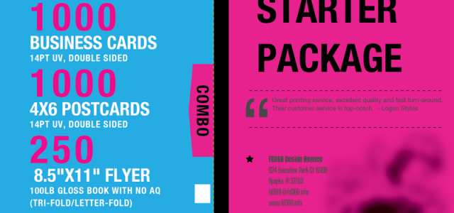 Silver Starter Print Package