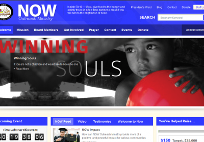 NOW Outreach Ministry Website