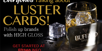 Gloss Laminated Luster Cards