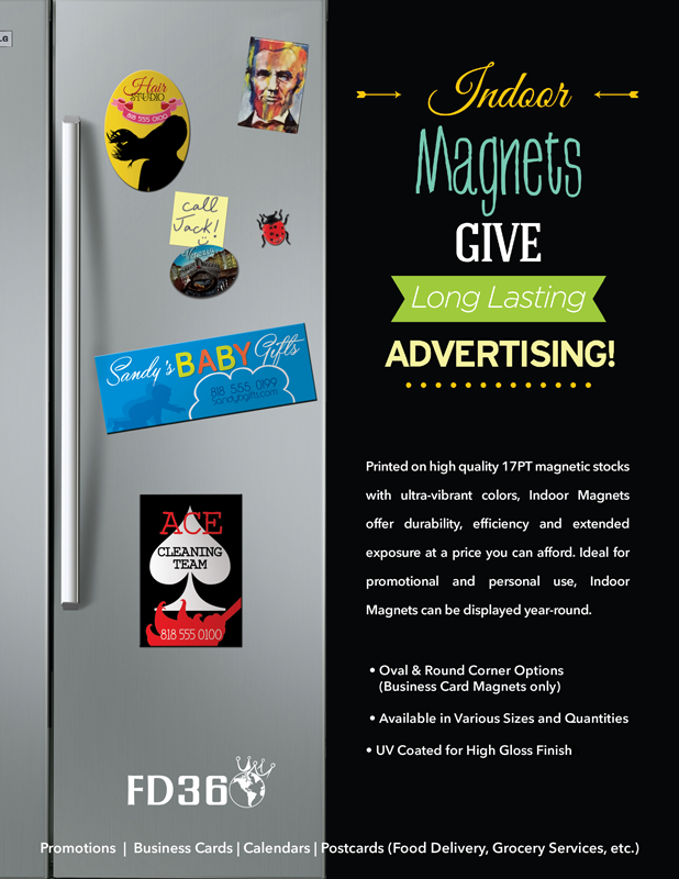 Indoor Magnets Give Long Lasting Advertising